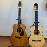 クラシックギターとフォークギターの違い