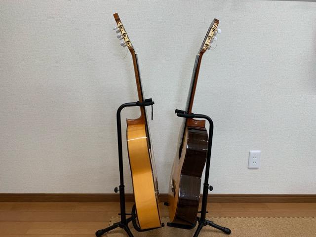 クラシックギターとフラメンコギター2