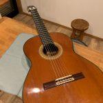 クラシックギターの弦交換