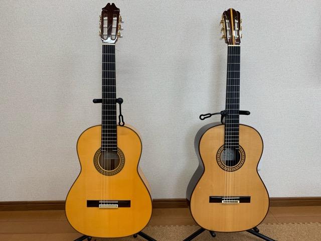 クラシックギターとフラメンコギター