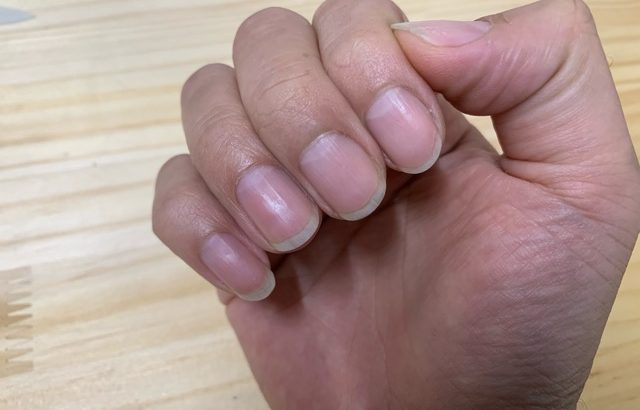 爪のお手入れ クラシックギター