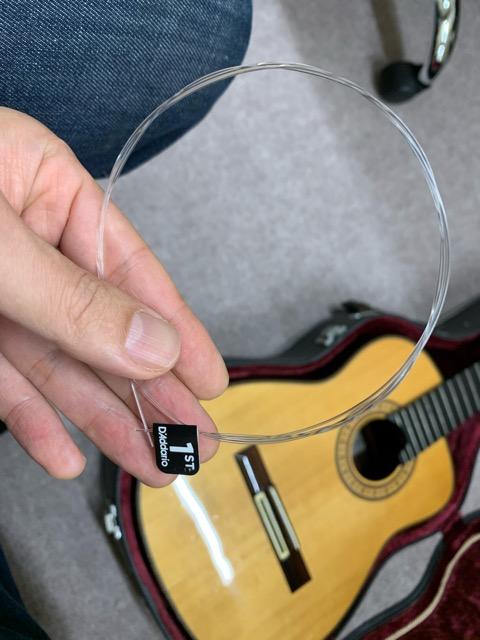アルトギター用の弦、中身